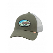 Salmon Fly Patch Trucker