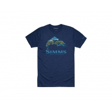 Troutscape T-Shirt by Simms