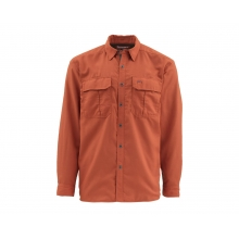 Men's Coldweather Ls Shirt by Simms in Durango Co