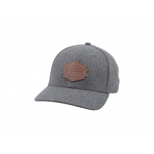 Wool Leather Patch Cap