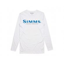 Simms Logo LS Tech Tee