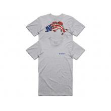 Men's Kennedy Patriotic Bass T-Shirt by Simms