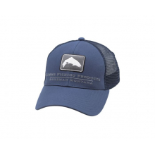 Small Fit Trout Icon Trucker by Simms