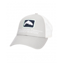 Small Fit Trout Icon Trucker by Simms in Omak WA