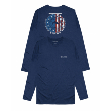 Men's Reel Patriot Ls T-Shirt