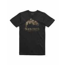 Men's Trout Riparian Camo T-Shirt by Simms