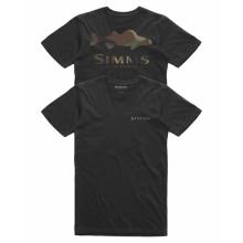 Men's Walleye Logo T-Shirt by Simms