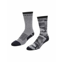 Men's Merino Midweight Hiker Sock 2-Pack by Simms