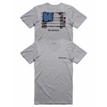 Men's USA Slackertide T-Shirt by Simms