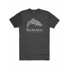 Men's Wood Trout Fill T-Shirt by Simms in Loveland CO