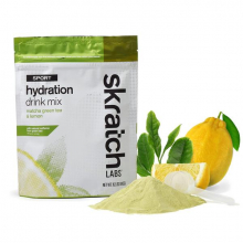 Sport Hydration Drink Mix, Matcha Green Tea and Lemons, 20-Serving by Skratch Labs in Colorado Springs CO
