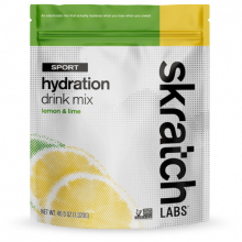 Sport Hydration Drink Mix, Lemon & Lime, 60-Serving
