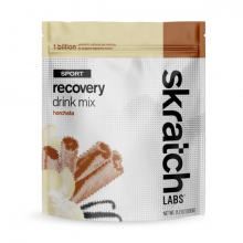 Sport Recovery Drink Mix, Horchata, 12-Serving Resealable Pouch by Skratch Labs