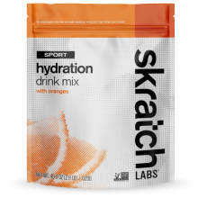 Sport Hydration Drink Mix, Oranges, 60-Serving