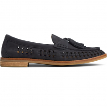 Women's Seaport Penny Plushwave Woven Black by Sperry in Squamish BC