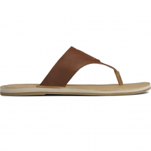 Women's Seaport Thong Lthr Cathay Spce by Sperry