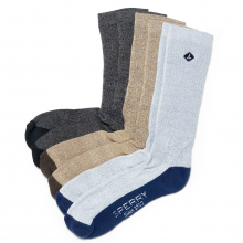Men's Crew Sock 3-Pack by Sperry