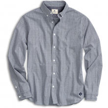 Men's Micro Houndstooth Button Down Shirt by Sperry