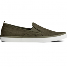 Women's Sailor Twin Gore Perf Nubuck Olive by Sperry