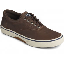 Men's Halyard Cvo Leather Brown by Sperry