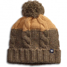 Unisex Two Tone Marl Cable Beanie by Sperry