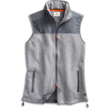 Men's Mixed Material Vest by Sperry