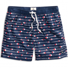 Men's Buoy Print Volley Swim Short