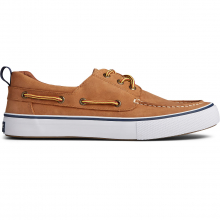 Men's Bahama 3-Eye Leather Tan/White by Sperry in Knoxville TN