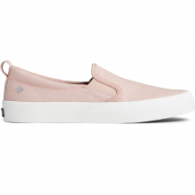 Women's Crest Twin Gore Textile Sparkle Slip On Sneaker by Sperry in Knoxville TN