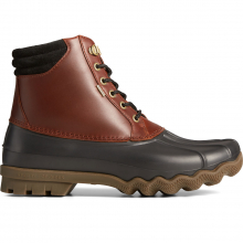 Men's Avenue Duck Boot Blk Ameretto by Sperry