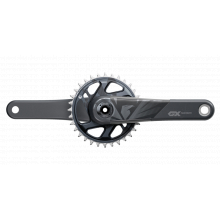 Crank GX Carbon Eagle Boost 148 DUB 12s 175 w Direct Mount 32t X-SYNC 2 Chainring Lunar (DUB Cups/Bearings Not Included) by SRAM