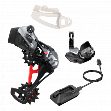 Power Meter KIT DM 4633T RED AXS D1 POLAR GREY (Power Meter INCLUDING CHAINRINGS) by SRAM