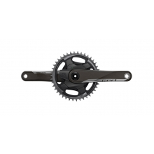Red 1x D1 Quarq Road Power Meter DUB 167.5 - 48T Aero (BB not included) by SRAM