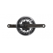 Red D1 Quarq Road Power Meter DUB 172.5 - 50-37 Yaw (BB not included) by SRAM