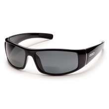 Atlas +2.00 - Gray Polarized Polycarbonate by Suncloud
