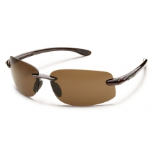 Excursion - Brown Polarized Polycarbonate by Suncloud in Coeur Dalene Id