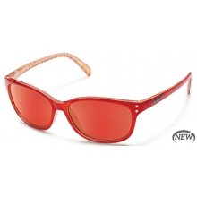 Flutter  - Red Mirror Polarized Polycarbonate by Suncloud