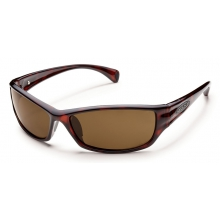 Hook - Brown Polarized Polycarbonate by Suncloud in Sylva Nc