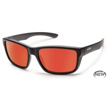 Mayor  - Red Mirror Polarized Polycarbonate by Suncloud