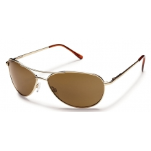 Patrol - Brown Polarized Polycarbonate by Suncloud in Rogers Ar