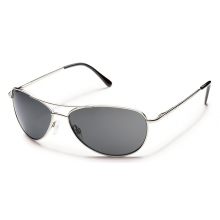 Patrol - Gray Polarized Polycarbonate by Suncloud in Rogers Ar