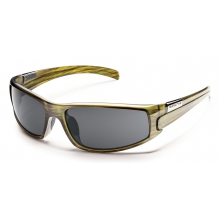 Swagger - Gray Polarized Polycarbonate by Suncloud in Rogers Ar