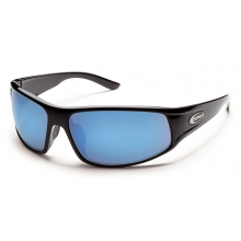 Warrant - Blue Mirror Polarized Polycarbonate by Suncloud in Sylva Nc