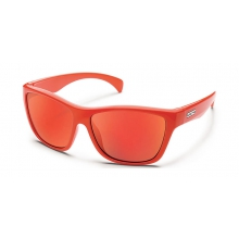 Wasabi - Red Mirror Polarized Polycarbonate by Suncloud