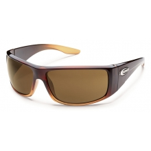 Pit Stop  - Brown Polarized Polycarbonate by Suncloud