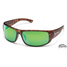 Turbine - Green Mirror Polarized Polycarbonate by Suncloud