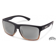 Rambler (Medium Fit) Black Tortoise Fade by Suncloud