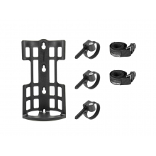 VersaCage, Cage to mount anywhere of bike to carry more stuffs, engineering plastic, inclduing three VersaMount & two buckle strap by Topeak
