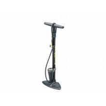 JoeBlow Max HP floor pump, 160 PSI/11 BAR, TwinHead, Black color by Topeak in Denver CO