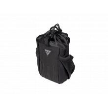 FreeLoader, stem mount bag, for bottle, energy bars, backup battery packs, 1.0L, Black
